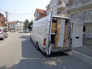 Kombi spreman za polazak iz Beograda za trebinje