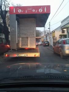 Selidbe trafika