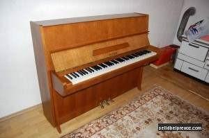 Selidba klavira Pianino