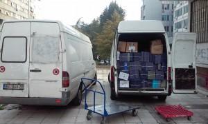 Spakovna arhiva spremna za transport
